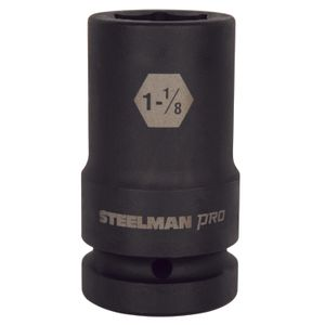 1 Inch Drive by 1 1 8 Inch 6 Point Deep Impact Socket