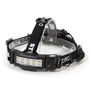 250 Lumen Motion Activated Slim Profile Multi-Mode LED Headlamp 3xAA Battery Powered with Rear Safety Light