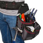 Thumbnail - 13 Compartment Work Belt Framer Pouch with Hammer Loop - 71