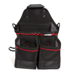 13-Compartment Work Belt Framer Pouch with Hammer Loop