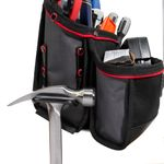 Thumbnail - 21 Compartment Work Belt Contractor Pouch with Hammer Loop - 31