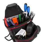 Thumbnail - 21 Compartment Work Belt Contractor Pouch with Hammer Loop - 41