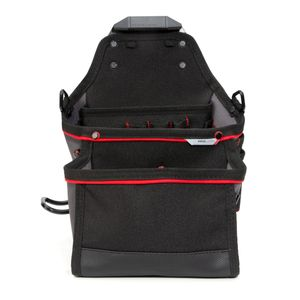 21-Compartment Work Belt Contractor Pouch with Hammer Loop