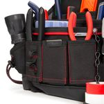 Thumbnail - 20 Compartment Work Belt Maintenance and Electrician Pouch with Tape Chain - 41