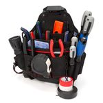 Thumbnail - 20 Compartment Work Belt Maintenance and Electrician Pouch with Tape Chain - 11