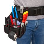 Thumbnail - 15 Compartment Work Belt Small Electrician Pouch - 51