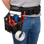 Thumbnail - 12 Compartment Work Belt Utility Pouch with Tape Loop - 71