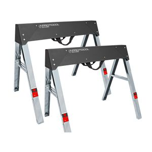 Steel Foldable Sawhorse Set