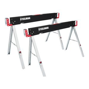 Work Table Folding Sawhorse Set