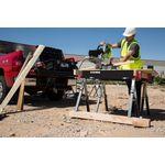 Thumbnail - 42 Inch Adjustable Height Metal Folding Sawhorse Set - 61