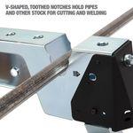 Thumbnail - Adjustable Height Portable Steel Welding Sawhorse - 41