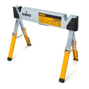 Adjustable Height Portable Steel Welding Sawhorse