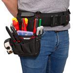 Thumbnail - 9 Compartment Work Belt Technician Plus Pouch - 51