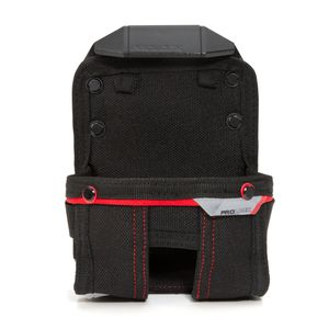6-Compartment Work Belt Tape Measure Holder