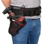 Thumbnail - 5 Compartment Work Belt Drill Holster - 61