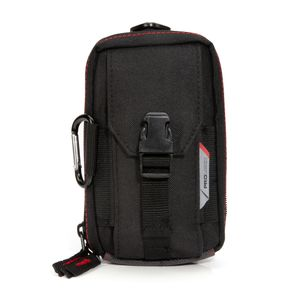 4-Compartment Zippered Work Belt Cell Phone Pouch