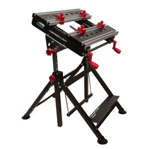 Portable Clamping Project Station with Adjustable Platform