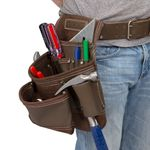 Thumbnail - 9 Pocket Leather Contractor s Tool Pouch - 41