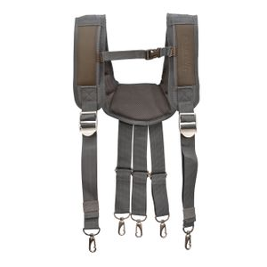 Cooling Mesh Padded Tool Belt Suspenders