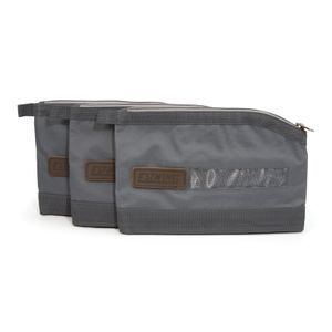 Zippered Accessory and Tool Pouch 3-Pack