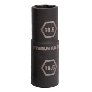 1 2 Inch Drive 18 5mm by 19 5mm Thin Wall Impact Flip Socket