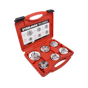 Snug Fit Mazda Oil Filter Cap Wrench Set, 6-Piece