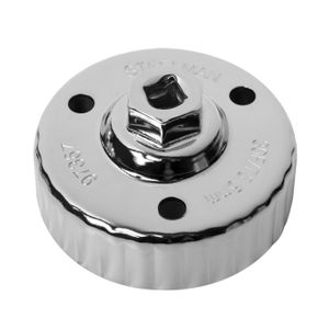 Oil Filter Cap Wrench for Mazda, Snug Fit, 75.5mm x 30 Flute