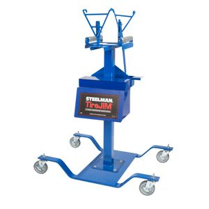 All-in-One Tire Jim Flat Repair Station with Roller Head Assembly