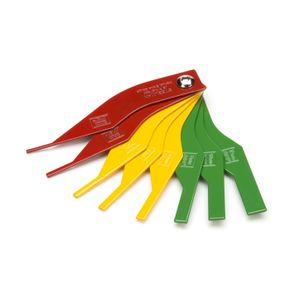 8-Piece Brake Lining Thickness Gauge