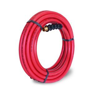 35-Foot x 3/8-Inch Rubber Air Hose with 3/8-inch NPT Fittings