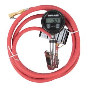 0-150 PSI Digital Gauge Inflator with 10-Foot Whip Hose