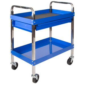1 Drawer Mechanic s Service Rolling Tool Cart