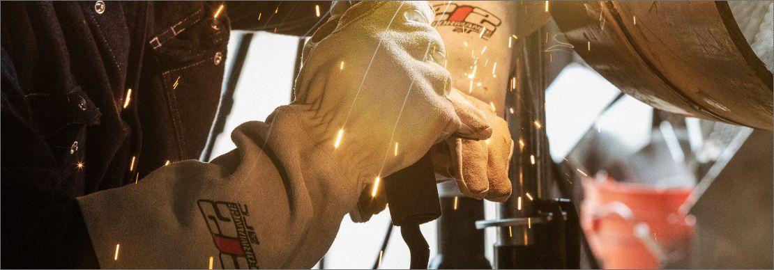 Premium Stick Welding Glove OfferingHeat Resistance, High Dexterity, and All Day Comfort