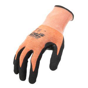 AX360 Seamless Foam Nitrile dipped Cut Resistant Hi Viz Gloves