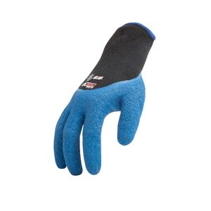 AX360 Seamless Knit Crinkle Grip Latex Gloves