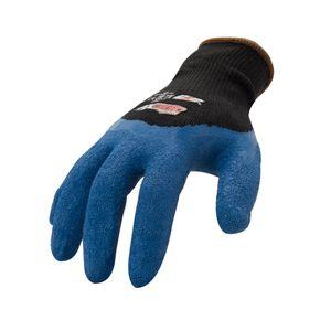 AX360 Seamless Knit Crinkle Grip Latex Gloves (Dozen)
