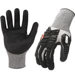 Thumbnail - AX360 Seamless Impact Cut 5 Gloves - 31