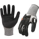 Thumbnail - AX360 Seamless Impact Cut Resistant 5 Gloves - 31