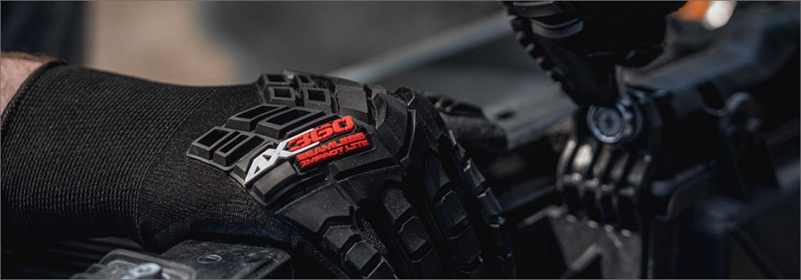 High-Level Impact Protection, Abrasion Resistance, High Grip and Lightweight