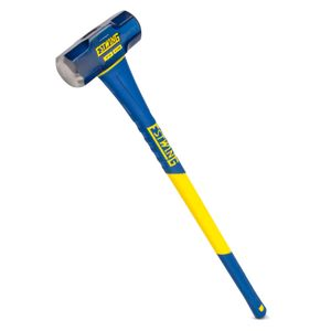 Hard Face Sledge Hammer with Fiberglass Handle