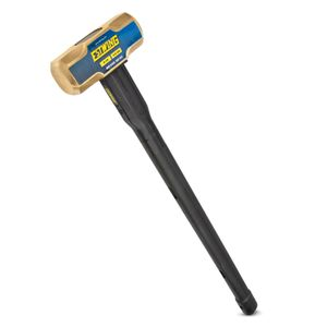 Brass Sledge Hammer with Indestructible Handle