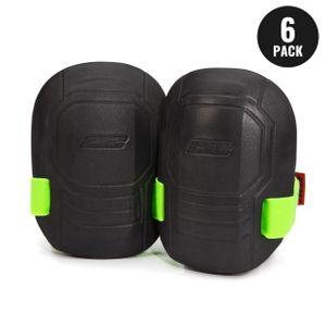 Molded EVA Foam Knee Pads, 3 Pairs