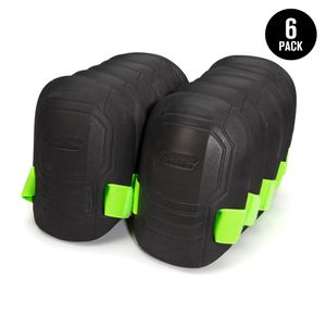 Molded EVA Foam Knee Pads, 6 Pairs
