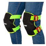 Thumbnail - Breathable Mesh Gel Core Foam Knee Pads with Hi Viz Straps - 21
