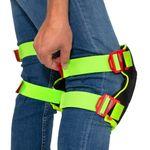 Thumbnail - Breathable Mesh Gel Core Foam Knee Pads with Hi Viz Straps - 31
