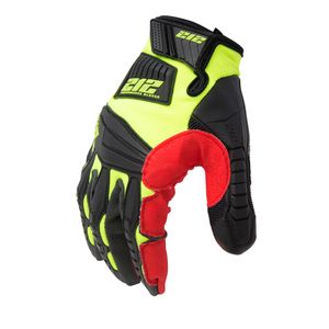 Impact Resistant Super Hi Viz Work and Utility Gloves