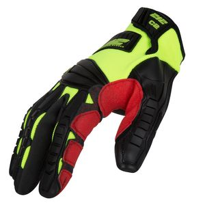 Impact Cut Resistant 2 Super Hi-Viz Work Gloves