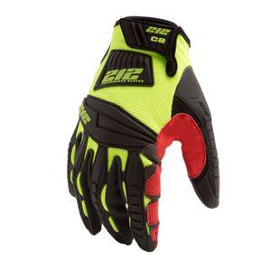Impact Cut Resistant 2 Super Hi Viz Work Gloves
