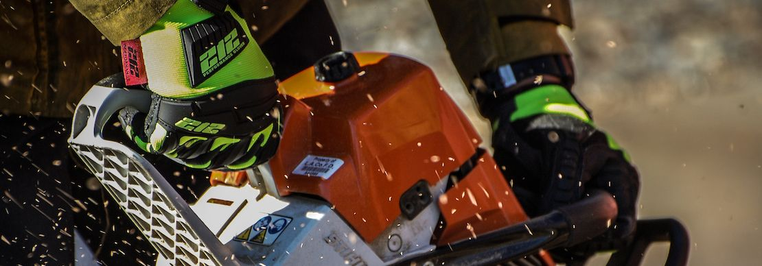 Extreme Impact Protection, Abrasion Resistance and Cut 5 Protection in this Hi-Viz Work Glove