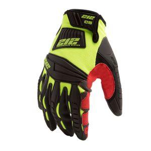 Impact Cut Resistant 5 Super Hi Viz Work Gloves